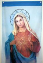 VIRGIN MARY - 3 FT 4 X 2FT 4 FLAG